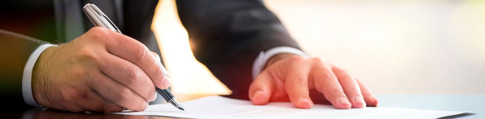 Welche Urkunden muss ich bereithalten?